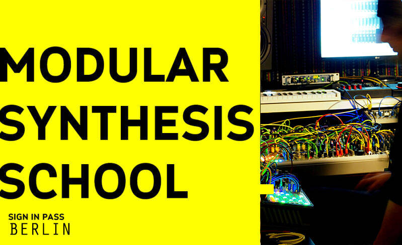 MODULAR SYNTHESIS SCHOOL BERLIN SIGN IN PASS | CYCLE 1