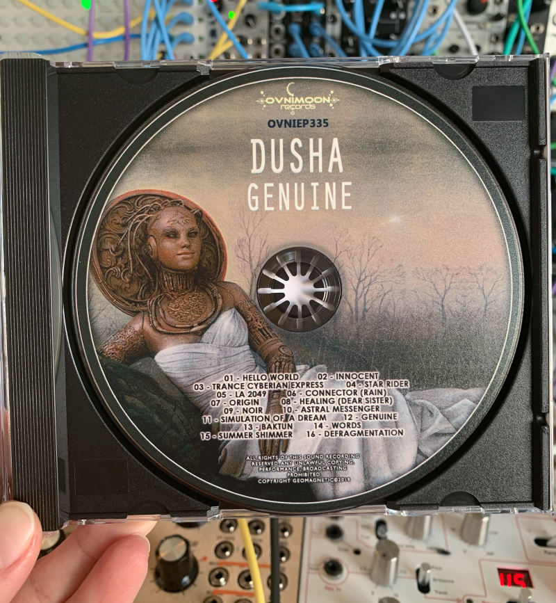 DUSHA | Genuine CD SOLD OUT