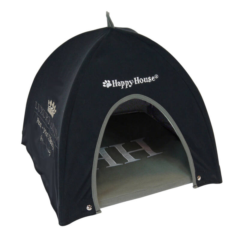 Happy-House Tent Luxury Living Zwart