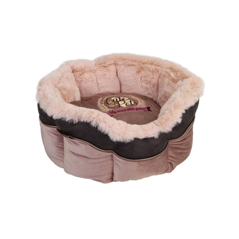 Happy-House Mand rond Cute Pets Roze