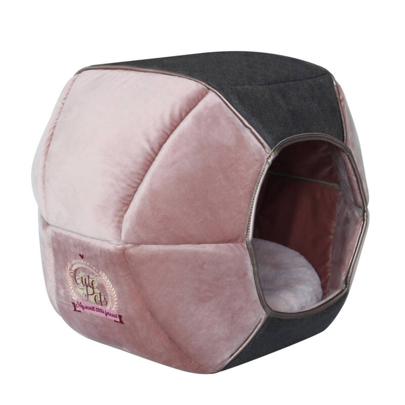 Happy-House Moonbasket Cute Pets (S) Roze