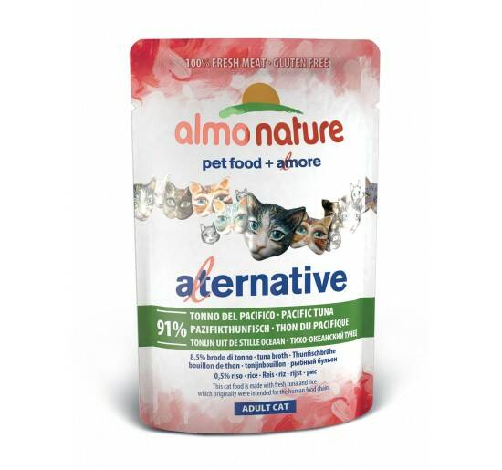 Almo alternative pacific tuna