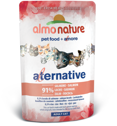 Almo alternative salmon