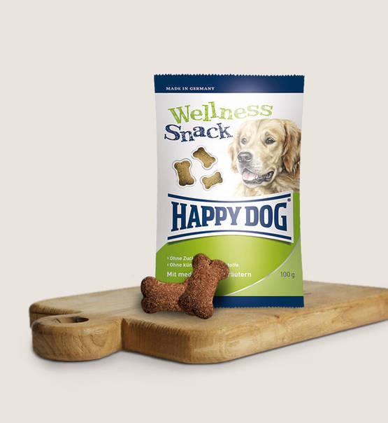 Happy dog snacks welness (100 gram)