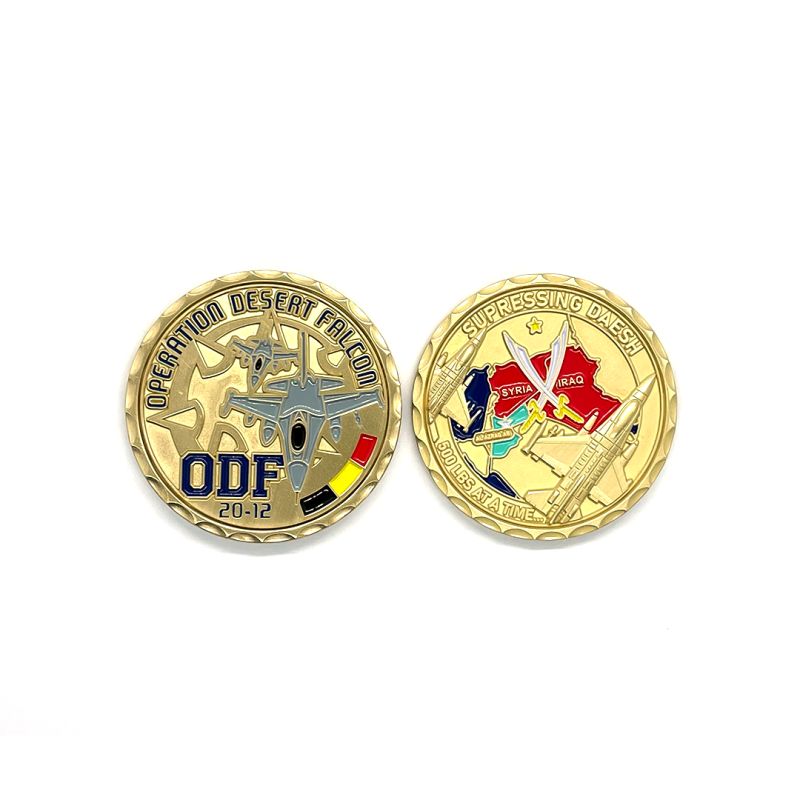 349 ODF 20-12 Challenge Coin