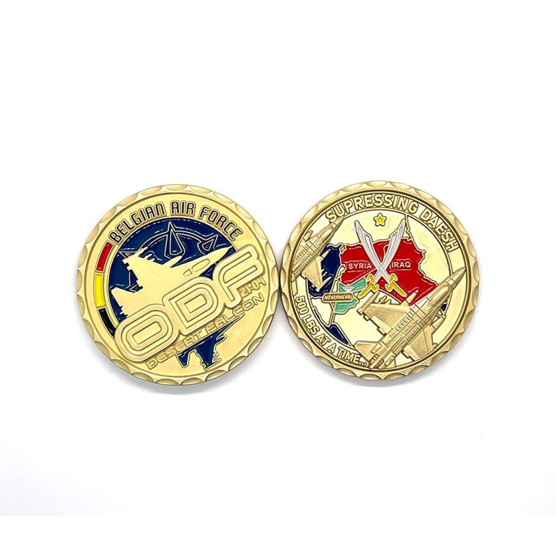349 ODF 21-04 Challenge Coin