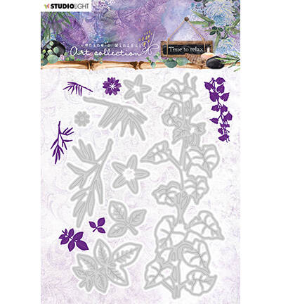 Jenine's Mindful Art Cutting & Embossing Die Time to Relax, nr.11