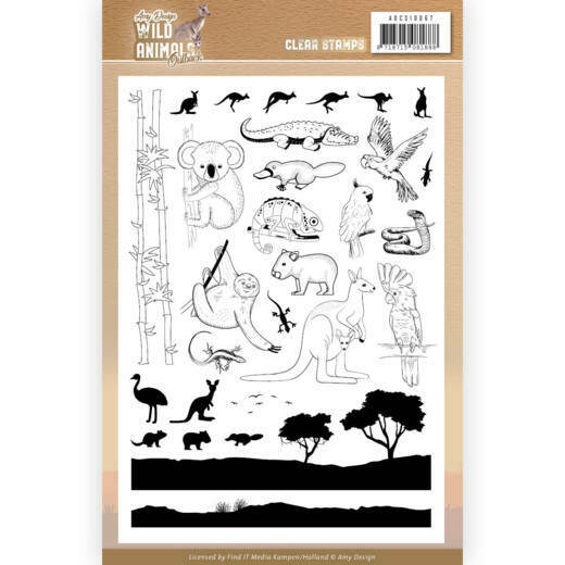 Clear Stamps - Amy Design - Wild Animals Outback, nr. ADCS10067