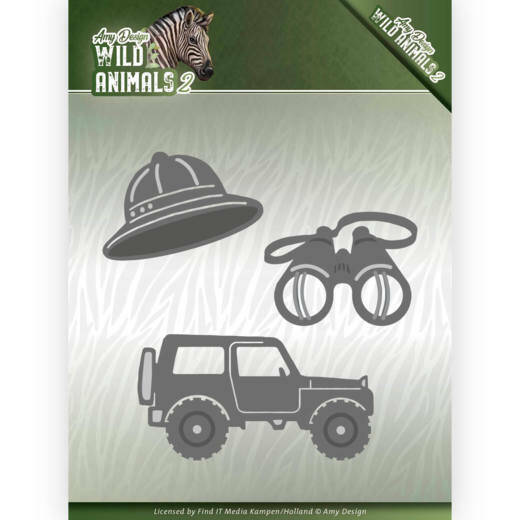 Dies - Amy Design - Wild Animals 2 - On a Safari, nr. ADD10176