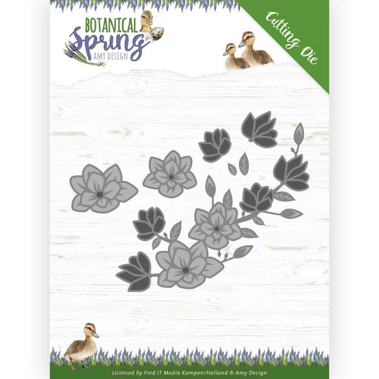 Dies - Amy Design - Botanical Spring - Blossom, nr. ADD10200