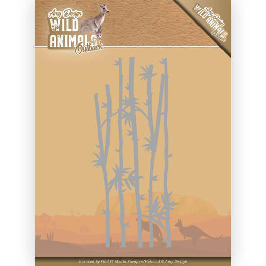 Dies - Amy Design - Wild Animals Outback - Bamboo Grass, nr. ADD10204