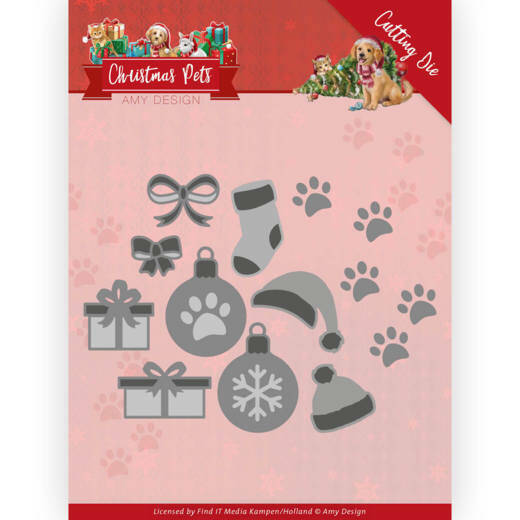 Dies - Amy Design - Christmas Pets - Christmas Decorations, nr.