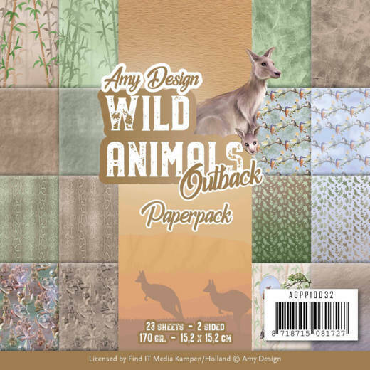 Paperpack - Amy Design - Wild Animals Outback, nr. ADPP10032