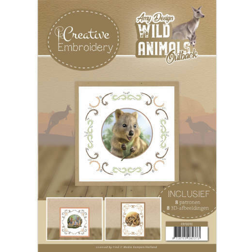 Creative Embroidery 13 - Amy Design - Wild Animals Outback, nr. CB10013