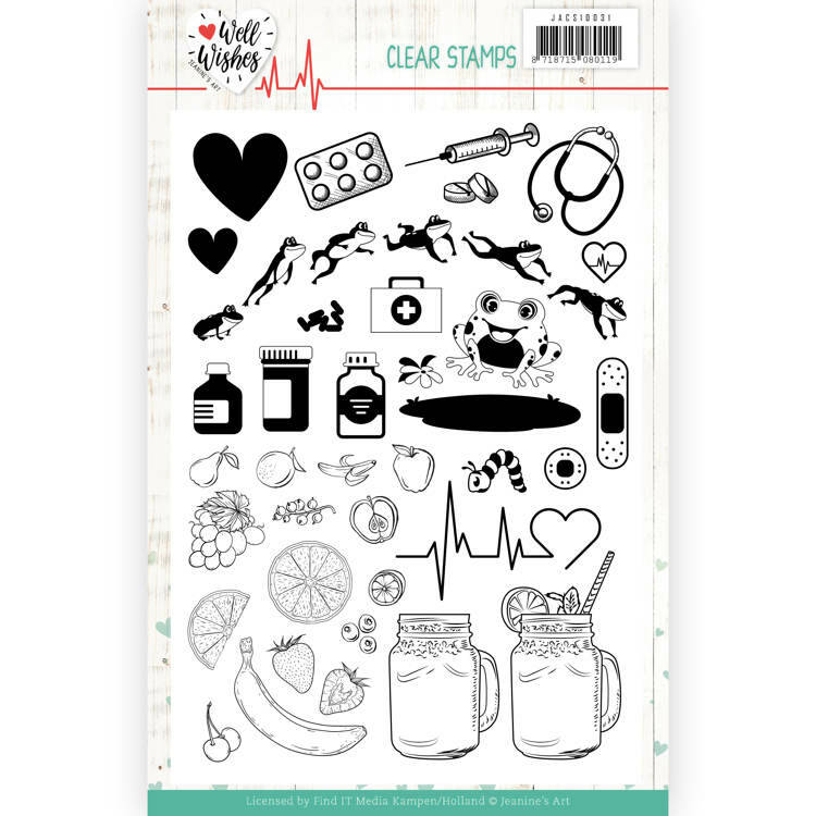 Clear Stamps - Jeanine's Art - Well Wishes, nr. JACS10031
