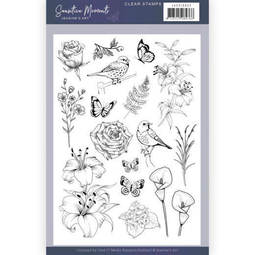 Clear Stamps - Jeanine's Art - Sensitive Moments, nr. JACS10032