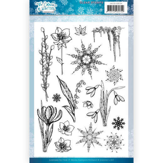 Clear Stamps - Jeanine's Art - The colours of winter, nr. JACS10034