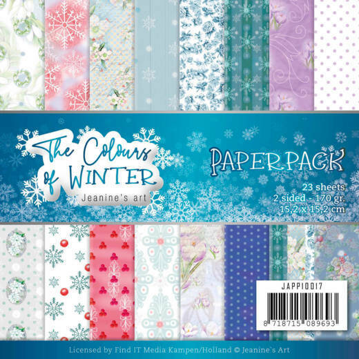 Paperpack - Jeanine's Art - The colours of winter, nr. JAPP10017