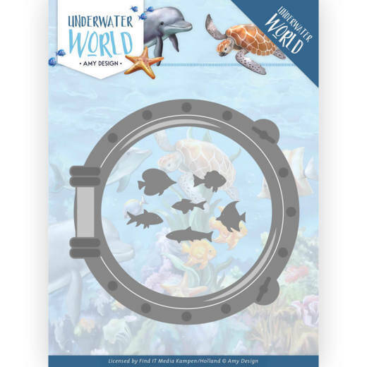 Dies - Amy Design - Underwater World - Porthole, nr. ADD10210