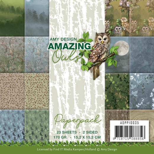 Paperpack - Amy Design - Amazing Owls, nr. ADPP10035