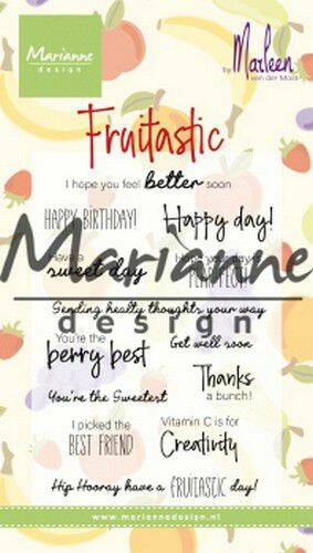 Clear Stamps Marleen's Fruitastic CS1031