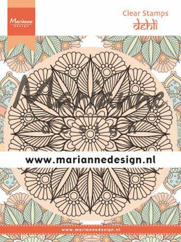 Clear Stamps Mandala Delhi CS1035