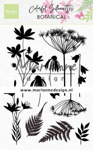 Clear Stamps Colorful Silhouette - Botanisch CS1048