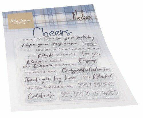 Clear Stamps Cheers by Marleen (ENG) CS1057