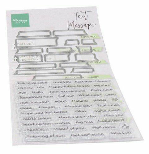 Clear Stamps text messages (Eng) CS1060