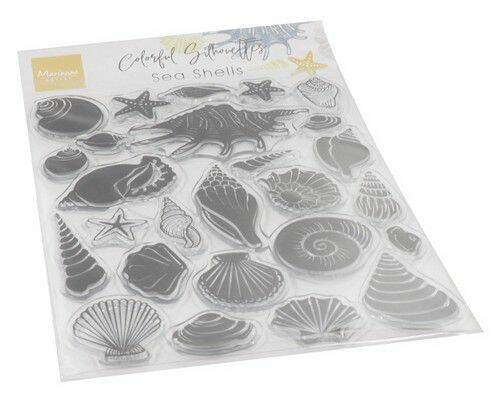 Clear Stamps Colorfull Silhouette - Zee Schelpen CS1061