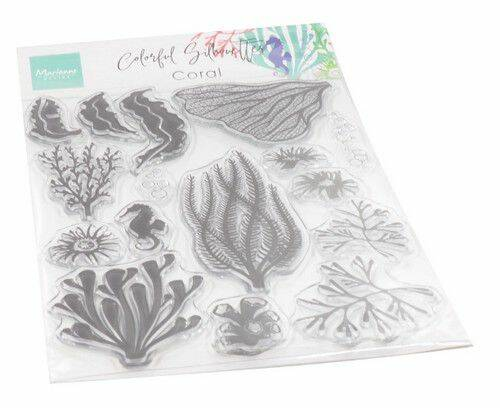 Clear Stamps Colorfull Silhouette - Koraal CS1062