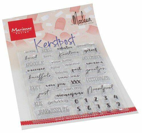 Clear Stamps Kerst Post by Marleen (NL) CS1069