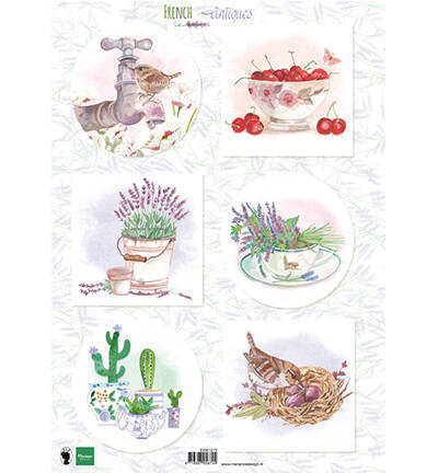 EWK1272 - French antiques lavender