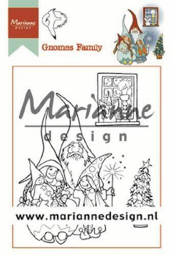 Clear Stamps Hetty's Gnomes Familie HT1650