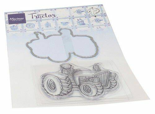 Clear Stamp & Die Hetty's Tractor HT1654