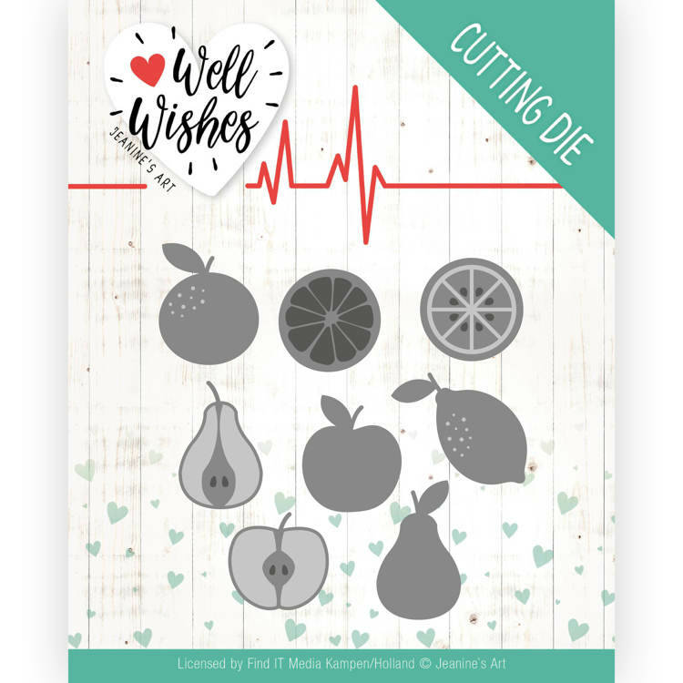 Dies - Jeanine's Art - Well Wishes - Fruits,  nr. JAD10093