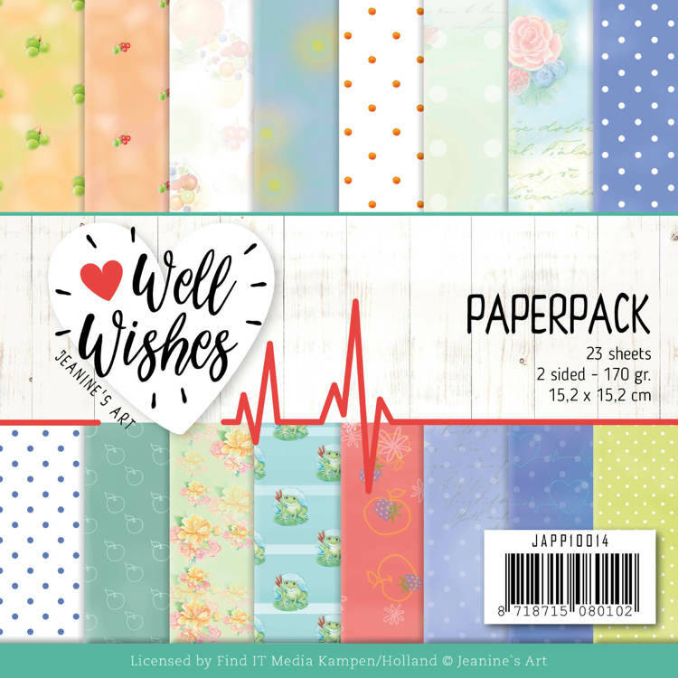 Paperpack - Jeanine's Art - Well Wishes, nr. JAPP10014