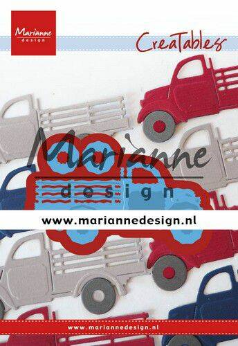 Creatable Pick-up truck LR0641