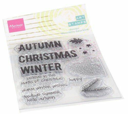 Clear Stamps Art stamps Hallo Herfst (NL) MM1631