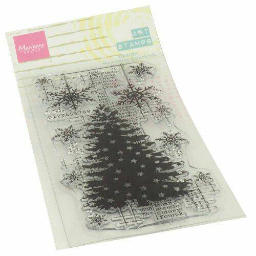 Clear Stamps Art stamps - Kerstboom MM1634