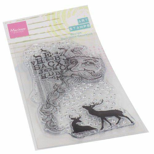 Clear Stamps Art stamps - Kerstman MM1635
