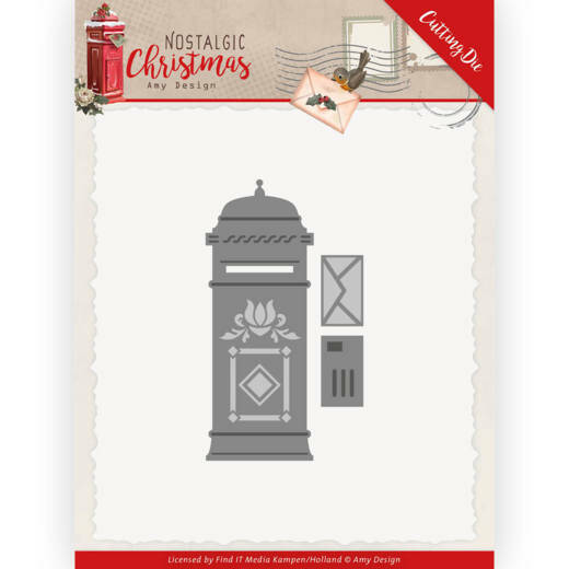 Dies - Amy Design - Nostalgic Christmas - Mail Box, nr. ADD10226