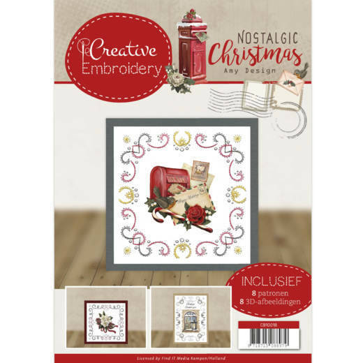 Creative Embroidery 18 - Amy Design - Nostalgic Christmas, nr. cb10018