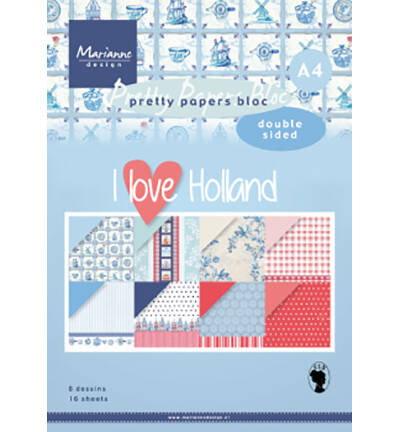 PK9168 - I love Holland A4