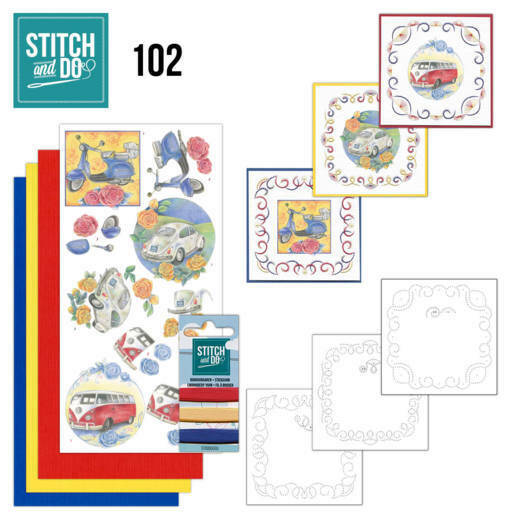 Stitch and Do setje nr. 102