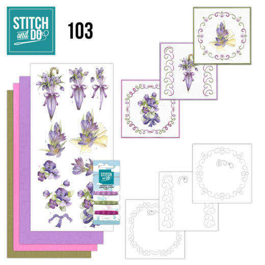 Stitch and Do setje nr. 103