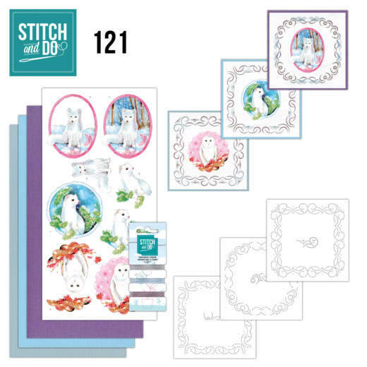 Stitch and Do setje nr. 121