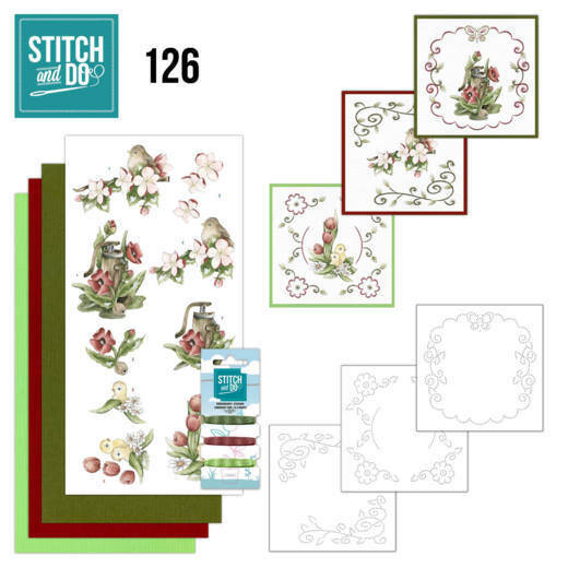 Stitch and Do setje nr. 126