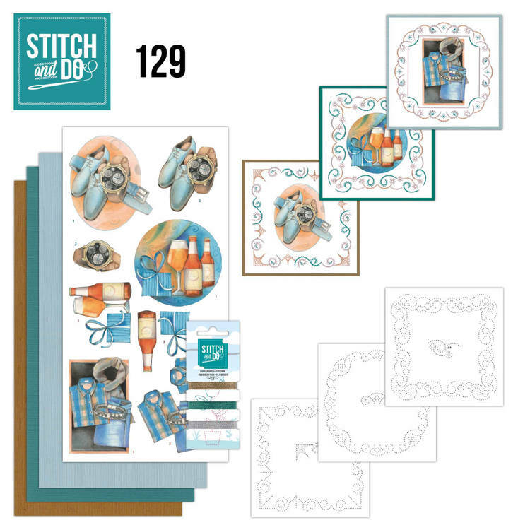 Stitch and Do setje nr. 129
