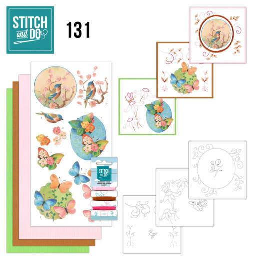 Stitch and Do setje nr. 131